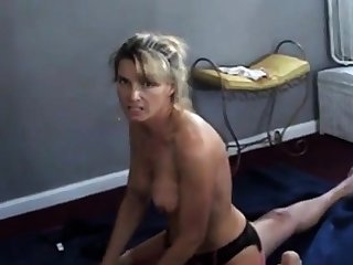 Join in matrimony talks dirty while cuckold husband films will not hear of with bull