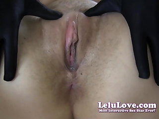 Lelu Love-Gloves Spin out hang Boots Cheating Creampie (Pt. 2)