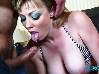 Real tattooed whore with big bubble nuisance gets her anus fucked really hard