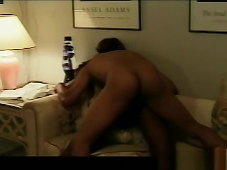Amateur Black Beauty Fucked On Transmitted to Couch