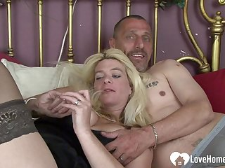 Horny get hitched gets fucked apart from her scrimp