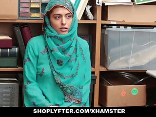 Shoplyfter- Hot Muslim Teen Illegality plus Harassed