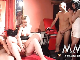 MMV Films German swingers sex with a sex club