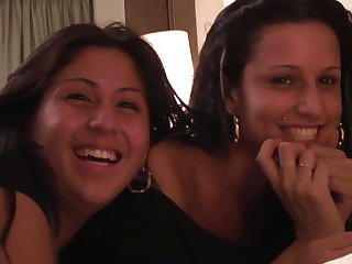 PUTA LOCURA Two Spanish NOT sisters fucked wide of Torbe
