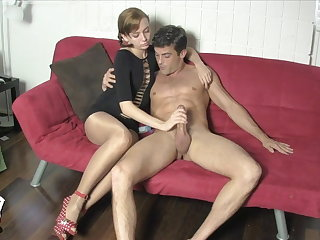 Edged with an increment of Milked wide of Lizzy Lamb SHINY PANTYHOSE FACE SITTING