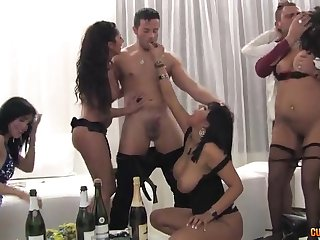An group sex on last day be beneficial to the year - leyla baleful