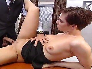 Pauperize bitch likes to masturbate