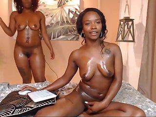 Black lesbians crazy online porn show