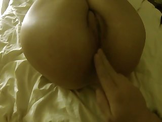 This masked slut knows how to suck a cock and obviously loves anal sex
