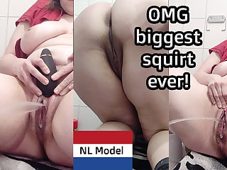 Biggest amateur squirt ever