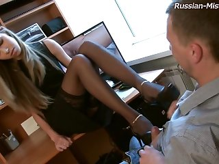 Russian Mistress Foot Amulet Porn Movie