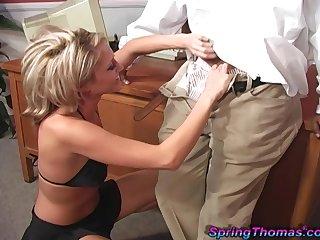 Tie the knot Spring Thomas loves having interracial sex in the livingroom
