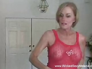 Having a ripsnorting time with granny Wicked Sexy Melanie