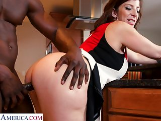 PAWG cougar Sara Jay is fucked by hot blooded young especially bettor