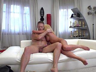 Rocco ass fucks spectacular Russian in webcam delight