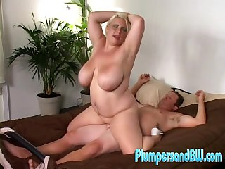 Chubby grown up woman filmed riding dick like a whore