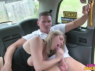 Hot cab creampie for married couple