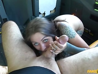 Driver loves hot tight Dutch pussy